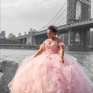 Morilee Vizcaya Quinceanera ball gown